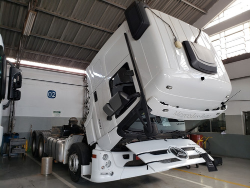 mb 2651 actros 6x4 ano 2018/2019 = scania, volvo, 540, 480