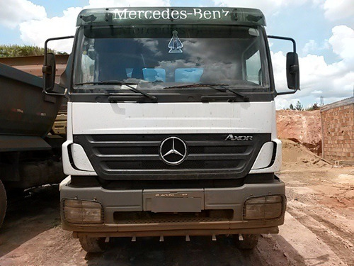 mb 2831 6x4 ano 2010/2011 tanque pipa   tanque de 25 mil l