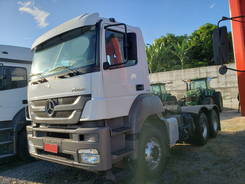 mb 3344 s axor 6x4 ano 2013 semi automático c/ garantia