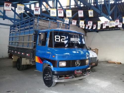 mb 608 1982 c/ carroceria boiadeiro