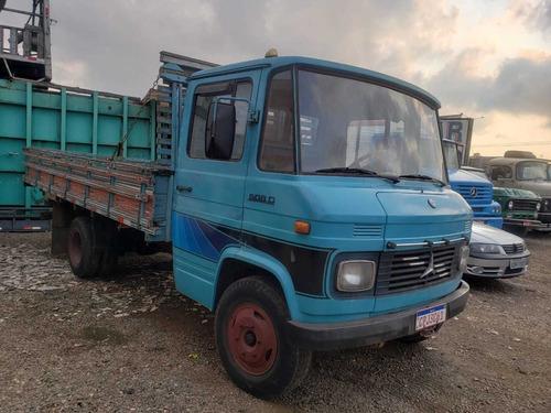 mb 608 carroceria 1977 - aceito troca