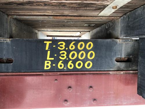 mb 708e carroceria alongada 6 mts