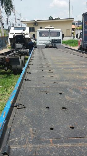 mb 914 truk 6/2 ano 2002 com plataforma 10 mts //