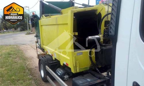 mb 915c 2p / 2012 - coletor de lixo usimeca mikro 6,7m³ 2012