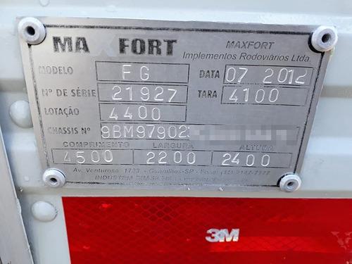 mb accelo 815  2012/2012, vuc,excelente estado, único dono.