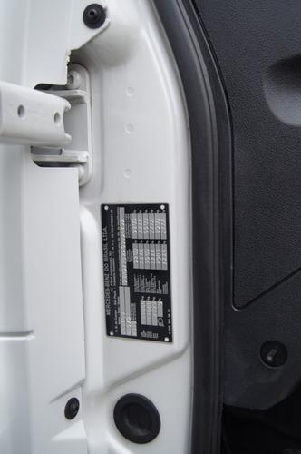 mb accelo 815 - frigorífico - ano 2016