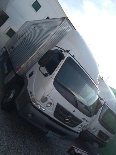 mb acello 1016 2016 baú 6,5 aceito troca carro ou caminhões