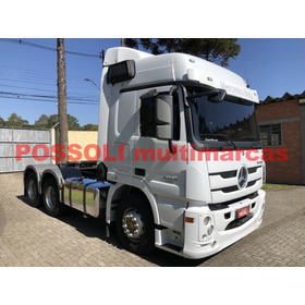 Mb Actros 2546 2019 6x2(truck)  Completo 105.400km Original
