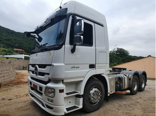 mb actros 2546 6x2 ano 2011