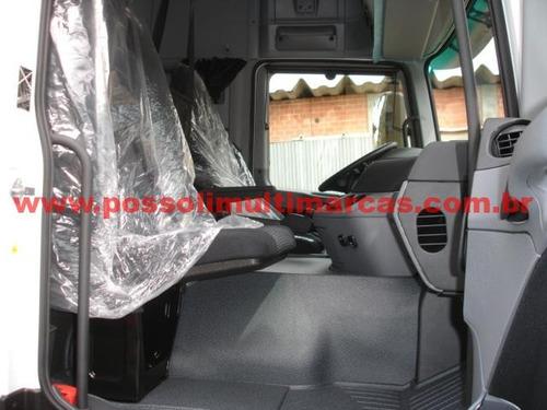 mb actros 2646 2012/2012 okm automático 6x4 traçado, sem uso