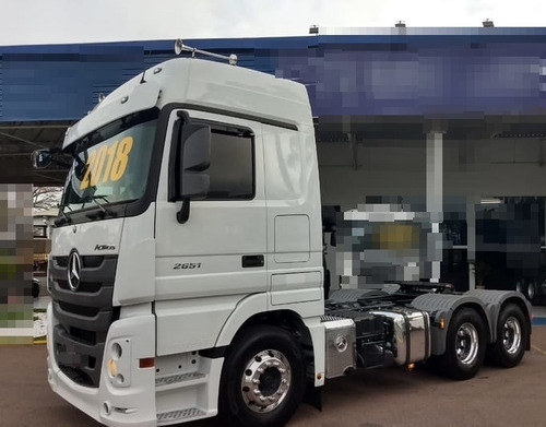mb actros 2651 6x4 ano 2018