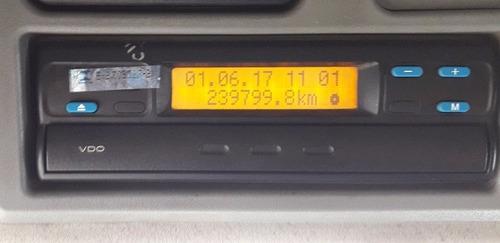 mb atego 1419 toco carroceria - ano 2012 - baixo km - u.dono