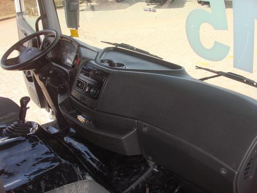 mb atego 2426, truck, 6x2, mecanico, baú 8,65, sjp2578