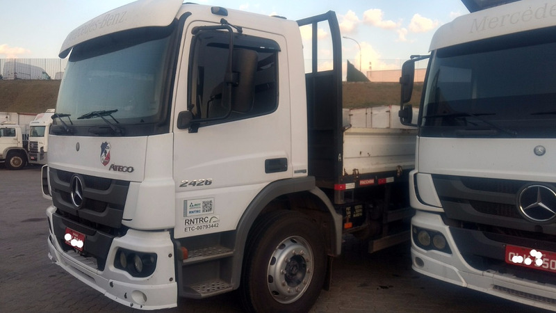 mb atego 2426 truck carroceria 2012 n 24280 24250 1620 2425