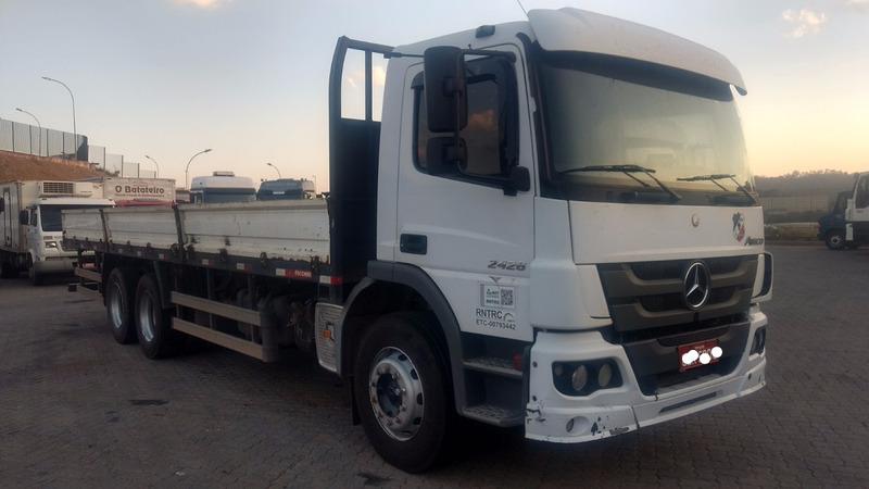 mb atego 2426 truck carroceria 2012 p310 p250 240e25  vm 260