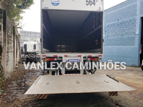 mb atego 3030 bitruck bau refrigerado e seco carga mista