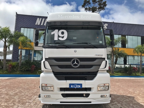 mb axor 2536, 6x2, 2019 nilson caminhões 6680