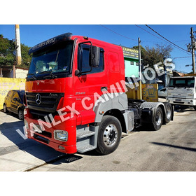 Mb Axor 2544 Semi Aut 2011 Rodas Aluminio Ñ 25390 Scania Fh