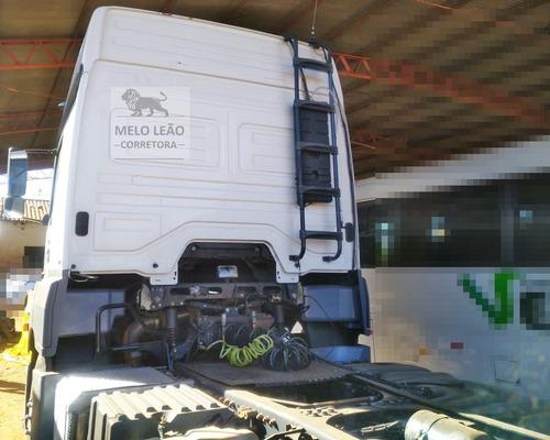 mb axor 2644 - 14/14 - cavalo traçado, cabine leito, t. a.
