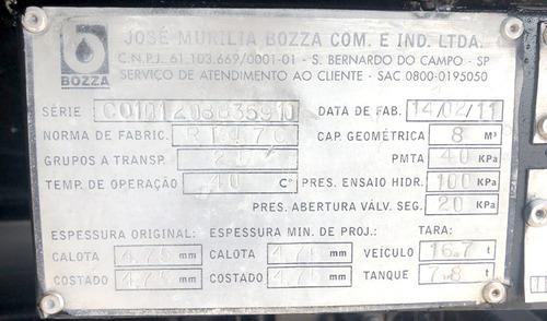 mb  axor 2831  6x4  2008  comboio de lubrificação= 31260