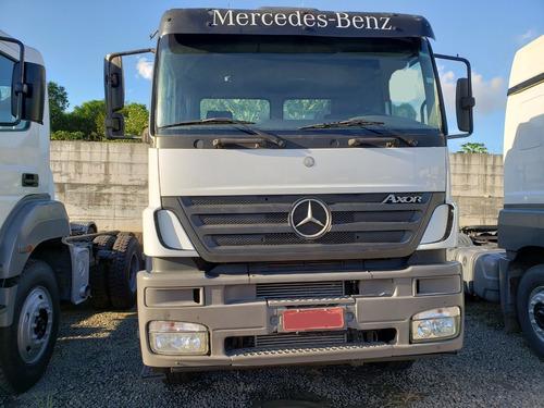 mb axor 3344 s 6x4 ano 2010 semi automático c/ garantia