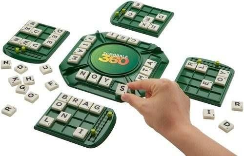 Mb Games Juego De Mesa Scrabble 360 770 00 En Mercado Libre