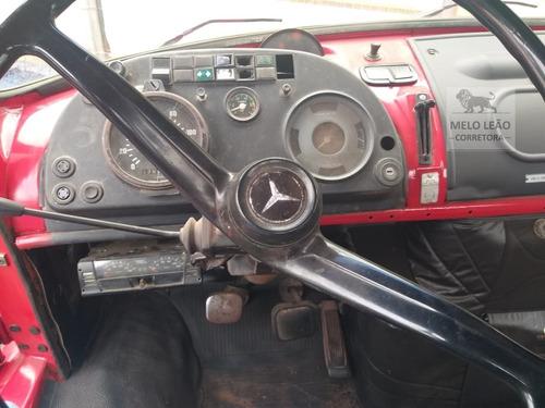 mb l 1313 - 79/79 - toco, no chassi, direção hidráulica *