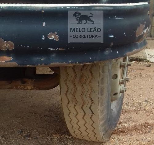 mb l 1513 - 74/74 - toco, caçamba 4m³ na lata, bem calçado *