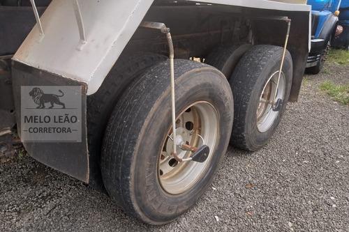 mb l 1516 - 77/77 - truck, caçamba 12m³, restaurado