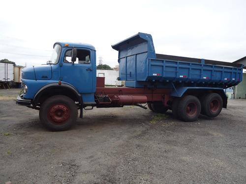 mb l 1519/80 truck  caçamba 10 ms³
