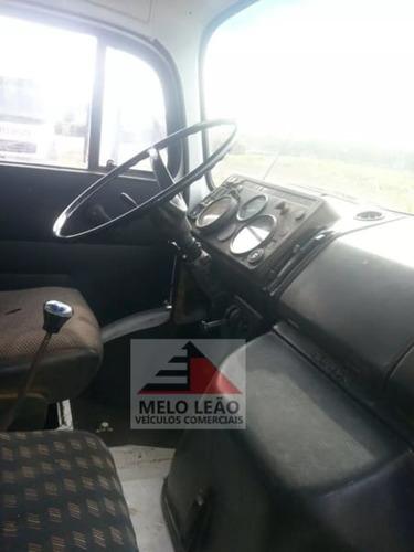mb l 1520 - 88/88 - truck, caçamba 10 m³ na lata