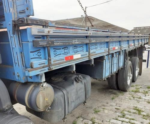 mb l 1620 - 99/99 - truck, carroceria de madeira de 8.20m *