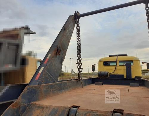mb l 2013 - 81/81 - truck, poli guindaste simples, prancha