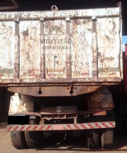 mb ls 1934 - 90/90 - truck morto, caçamba, cabine leito *