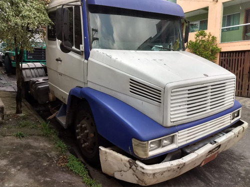mb ls1630 4x2 1994 branco leito climatizador motor quebrado