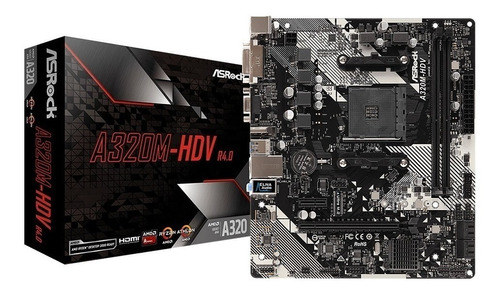 mb mother a320m-hd2  asrock am4