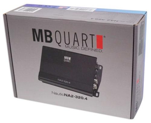 mb quart na2-320.4 320w rms 4 canales amplificador amp 4
