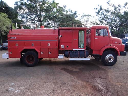 mb toco 1513 turbo bombeiro tanque  pipa ano 1975 raridade