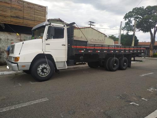 mb truck 6x2 1618 ano 1995 c carroceria de 8,10 metros