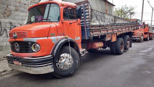 mb1513 ano 82 motor turbinado direçao hidraulica truck