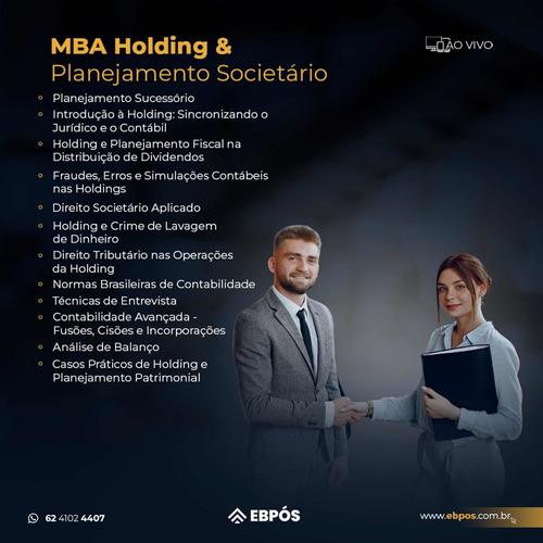 mba holding e planejamento  para contadores e advogados