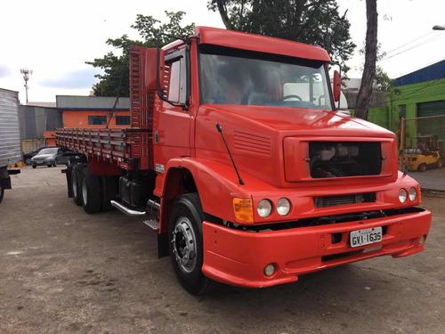mbb l 1418 truck ano 2000 carroceria (rm) motor fraco