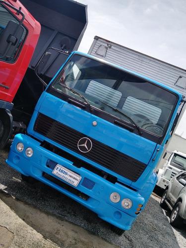 m.benz 1214 06 cc turbo baú aceito troca carro ou caminhão