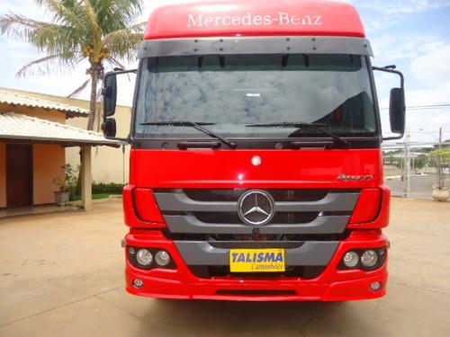 m.benz atego 2430-2014-teto alto-chassis-talismã caminhões