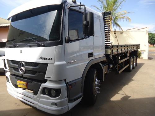 m.benz atego 2430-2016-truck-carroceria-talismã caminhões