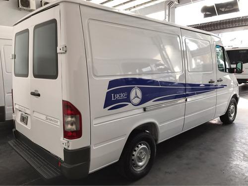 m.benz sprinter furgon largo bajo 2004 unica mano alfombrado