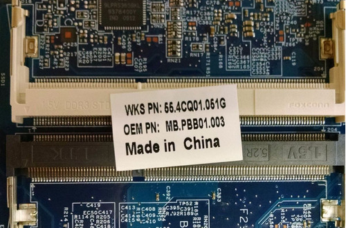 mb.pbb01.003 acer aspire 4810t 5810t laptop motherboard cpu