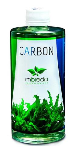 mbreda carbon 500ml co2 liquido aquario plantado