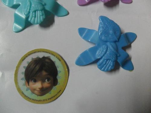 mc donald 2012 dwa hada colibri hadas pajaro ave juguete