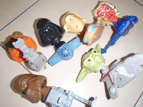 mc donals coleccion star wars usados lote todos juntos